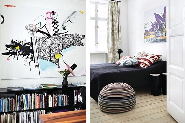 Contoh Motif Wallpaper Kamar Tidur Remaja Laki-laki 6