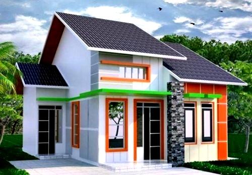 Perpaduan Warna Cat Rumah Minimalis Bagian Luar