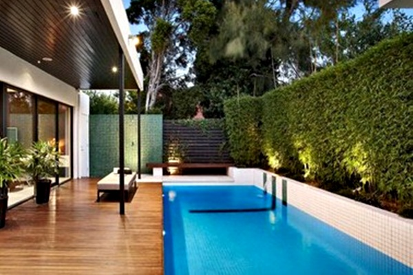 80 Desain Kolam Renang Samping Rumah Gratis