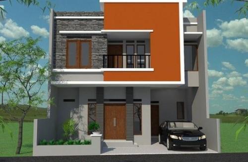 Desain Rumah Minimalis 2 Lantai Modern 2