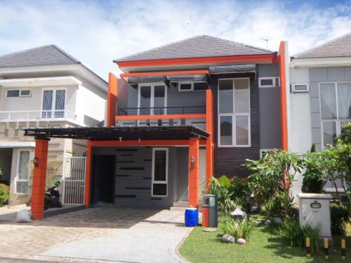 Desain Rumah Minimalis 2 Lantai Sederhana 1