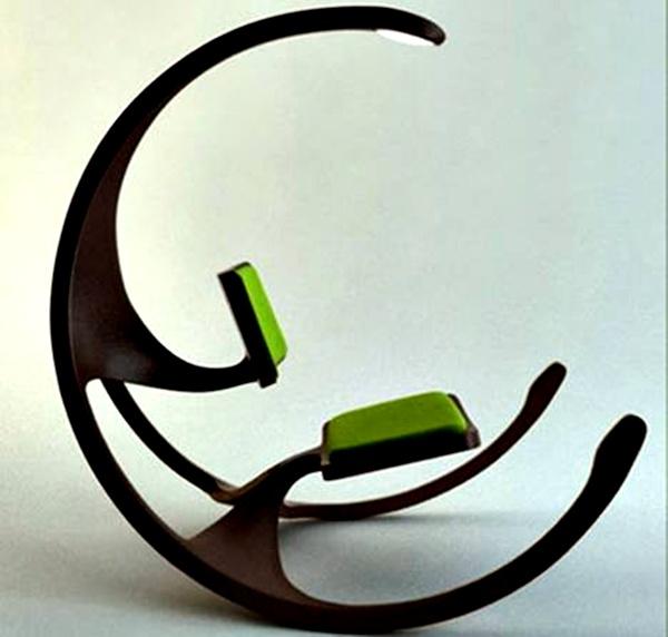 Desain Sofa Minimalis Seperti Kursi Goyang