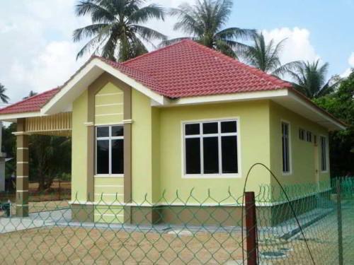 Gambar Rumah Idaman Sederhana di Desa yang Cantik 4 - 35 Gambar Rumah Idaman Sederhana di Desa yang Cantik