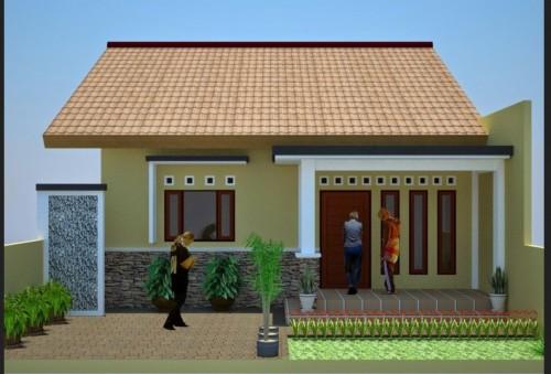 Gambar Rumah Idaman Sederhana di Desa yang Cantik 8 - 35 Gambar Rumah Idaman Sederhana di Desa yang Cantik
