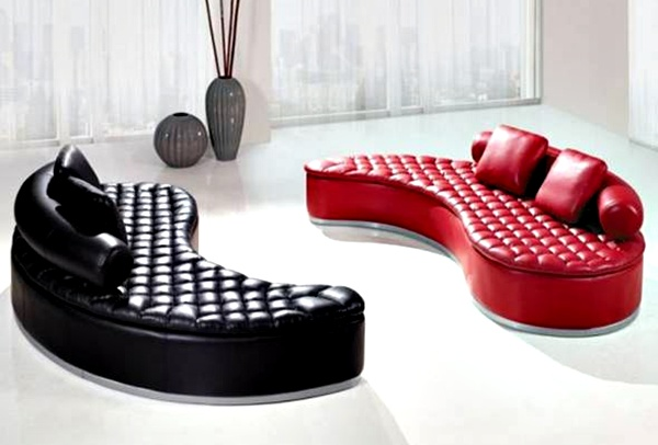 Gambar Sofa Minimalis dengan Bentuk Unik
