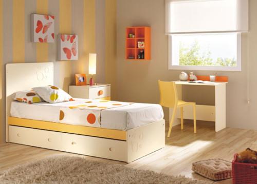 Kamar Tidur Anak Perempuan Sederhana Cream 2 - 22 Desain Kamar Tidur Anak Perempuan Sederhana