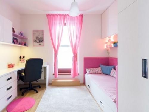 Kamar Tidur Anak Perempuan Sederhana Putih 2 - 22 Desain Kamar Tidur Anak Perempuan Sederhana