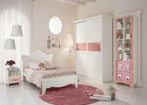 Kamar Tidur Anak Perempuan Sederhana Putih - 22 Desain Kamar Tidur Anak Perempuan Sederhana
