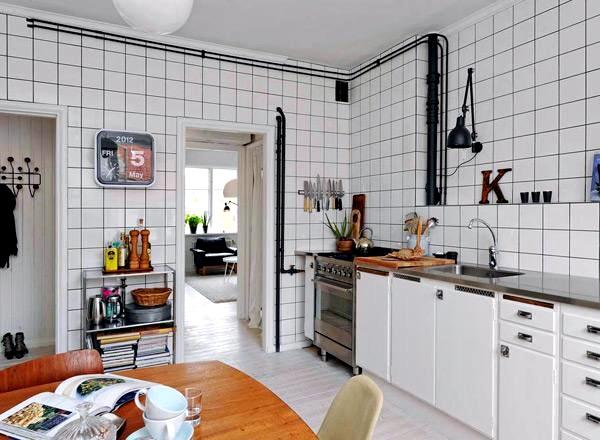 Motif Keramik Dapur Warna Putih