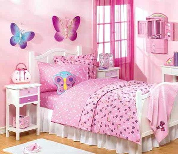 Warna Cat Kamar Tidur untuk Anak Perempuan 3