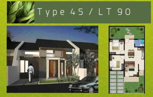 Denah Rumah Minimalis Type 45 - +20 Desain Rumah Minimalis Type 45 Modern Terbaru 2017