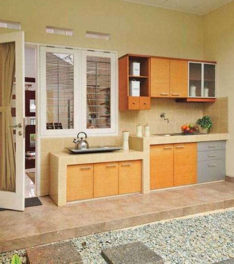 Kitchen Set Ruang Kecil: 25 Desain Dapur Minimalis Sederhana Yang Menjadi Idaman