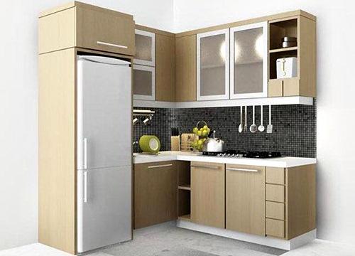Desain Dapur Minimalis Ukuran 2x2 dan 2x3 Meter 8 - 15 Desain Dapur Minimalis Ukuran 2x2 dan 2x3 Meter Terbaru