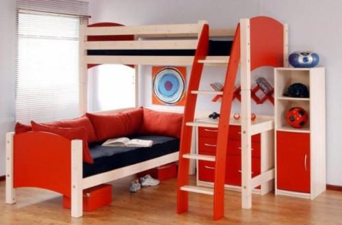 Desain Kamar Tidur Anak Laki laki Minimalis Modern 1 - 25 Desain Kamar Tidur Anak Laki-laki Minimalis Modern