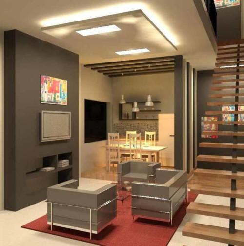 Desain Ruang Keluarga Minimalis Kecil 21 - 20+ Desain Ruang Keluarga Minimalis Kecil yang Bagus