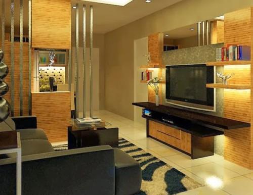 Desain Ruang Keluarga Minimalis Kecil 5 - 20+ Desain Ruang Keluarga Minimalis Kecil yang Bagus