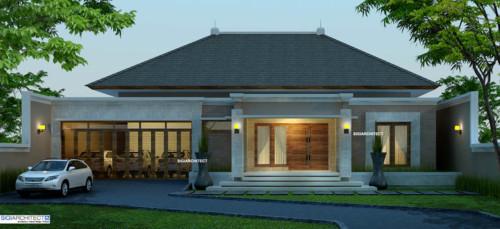 Desain Rumah Mewah 1 Lantai Modern 3 - 21 Desain Rumah Mewah 1 Lantai Modern Terbaru 2017/2018
