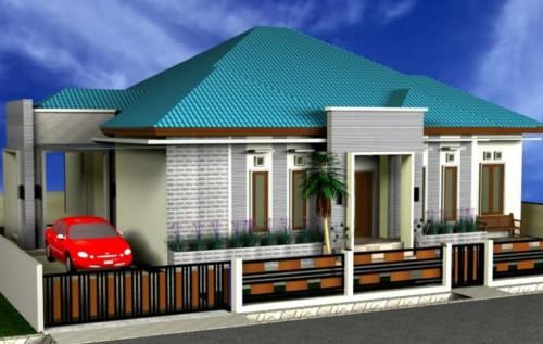 Desain Rumah Mewah 1 Lantai Modern 4 - 21 Desain Rumah Mewah 1 Lantai Modern Terbaru 2017/2018