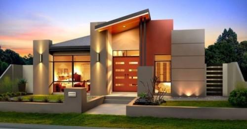 Desain Rumah Mewah 1 Lantai Modern 6 - 21 Desain Rumah Mewah 1 Lantai Modern Terbaru 2017/2018