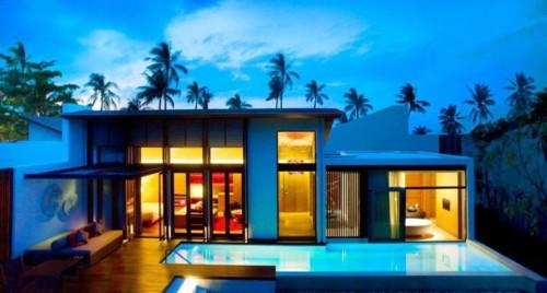 Desain Rumah Mewah 1 Lantai Modern 8 - 21 Desain Rumah Mewah 1 Lantai Modern Terbaru 2017/2018