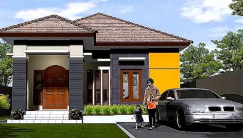 Desain Rumah Minimalis 1 Lantai Mewah 2