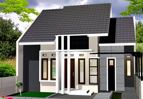 Desain Rumah Minimalis 1 Lantai Mewah 3