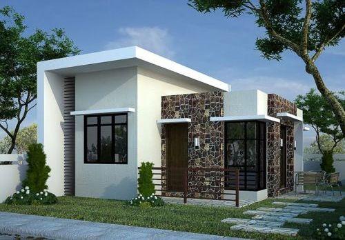 Desain Rumah Minimalis 1 Lantai Mewah 4