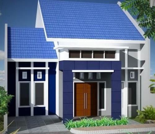 Desain Rumah Minimalis 1 Lantai Mewah 5