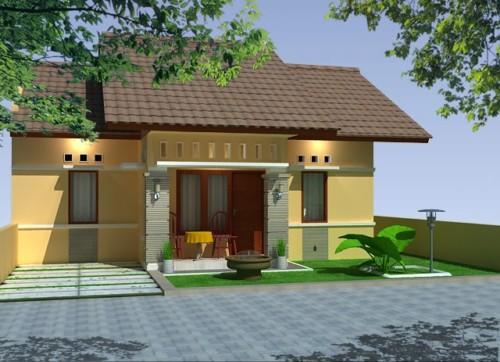 Desain Rumah Minimalis 1 Lantai Mewah 6
