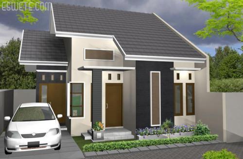 Desain Rumah Minimalis Type 45 Modern 1 - +20 Desain Rumah Minimalis Type 45 Modern Terbaru 2017