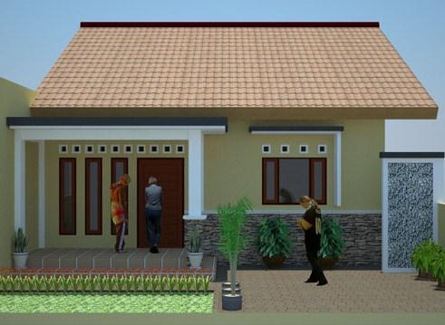 Desain Rumah Minimalis Type 45 Modern 10 - +20 Desain Rumah Minimalis Type 45 Modern Terbaru 2018