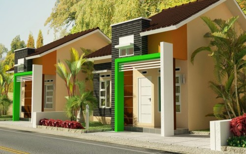 Desain Rumah Minimalis Type 45 Modern 15 - +20 Desain Rumah Minimalis Type 45 Modern Terbaru 2017