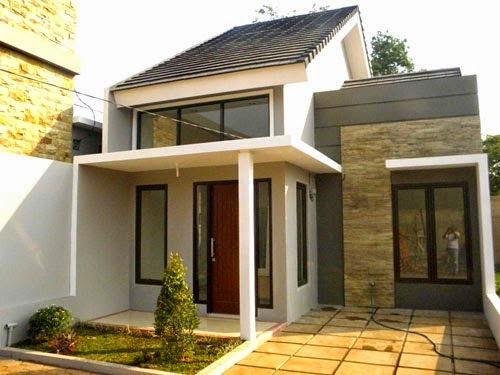 Desain Rumah Minimalis Type 45 Modern 17 - +20 Desain Rumah Minimalis Type 45 Modern Terbaru 2018