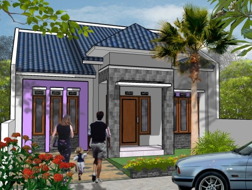 Desain Rumah Minimalis Type 45 Modern 6 - +20 Desain Rumah Minimalis Type 45 Modern Terbaru 2017
