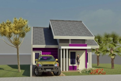 Desain Rumah Minimalis Type 45 Modern 7 - +20 Desain Rumah Minimalis Type 45 Modern Terbaru 2017