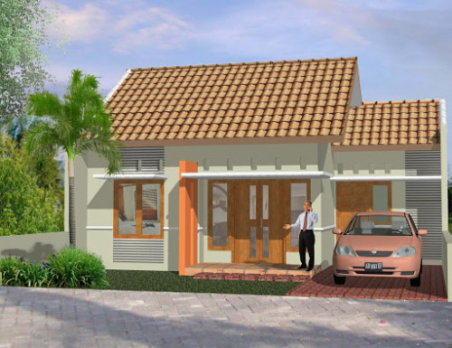 Desain Rumah Minimalis Type 45 Modern 9 - +20 Desain Rumah Minimalis Type 45 Modern Terbaru 2017