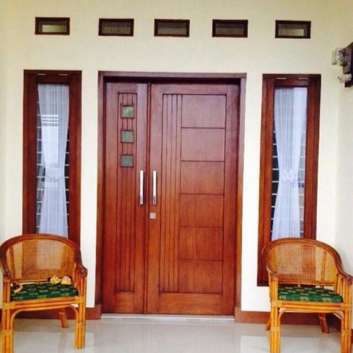 Gambar Pintu Rumah Minimalis 2 Pintu Besar Kecil 3 - Contoh Gambar Pintu Rumah Minimalis 2 Pintu Besar Kecil 2018
