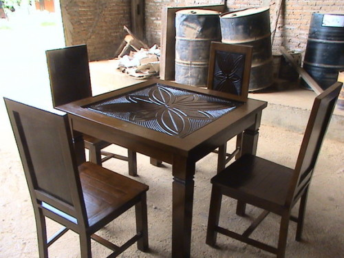 Model Meja Makan Minimalis 4 Kursi 2 - 20 Model Meja Makan Minimalis 4 Kursi dan 6 Kursi Terbaru