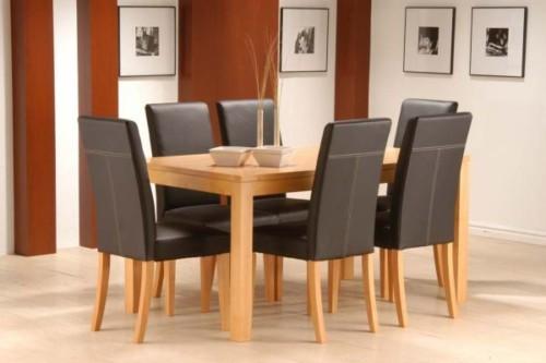 Model Meja Makan Minimalis 6 Kursi 6 - 20 Model Meja Makan Minimalis 4 Kursi dan 6 Kursi Terbaru