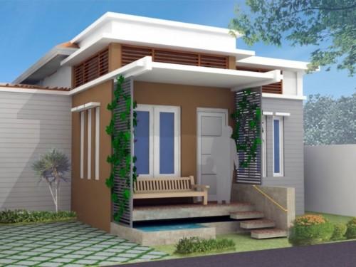 Model Teras Rumah Minimalis Sederhana Tampak Depan 2 - 26 Model Teras Rumah Minimalis Sederhana Tampak Depan 2018
