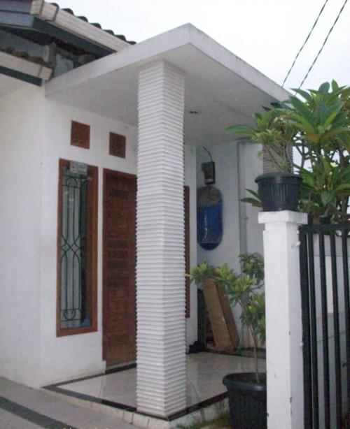 Model Tiang Teras Rumah Minimalis 14