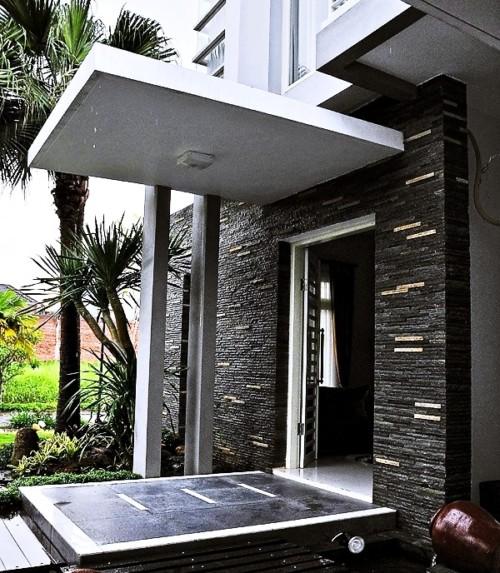 Model Tiang Teras Rumah Minimalis 16 - 17 Model Tiang Teras Rumah Minimalis Modern Masa Kini