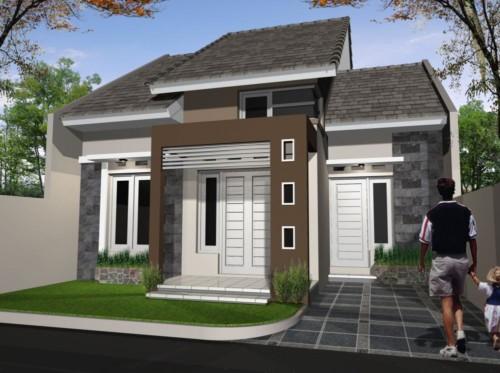 Model Tiang Teras Rumah Minimalis 4 - 17 Model Tiang Teras Rumah Minimalis Modern Masa Kini
