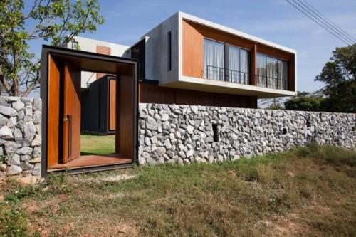 Pagar Rumah Minimalis Batu Alam 5 - 22 Gambar Pagar Rumah Minimalis Batu Alam Terbaru 2018