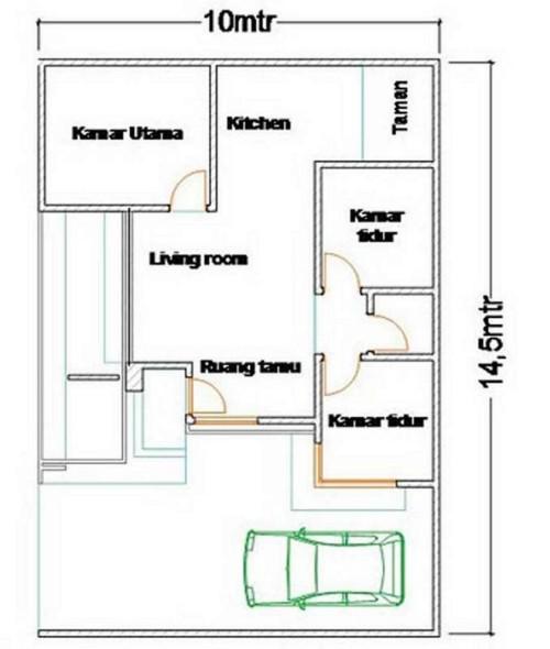 Image Result For Desain Rumah Minimalis Type Terbaru