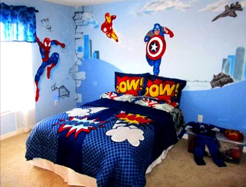 Wallpaper Dinding Kamar Tidur Anak Laki laki 1 - 25 Motif Wallpaper Dinding Kamar Tidur Anak Perempuan dan Laki-laki