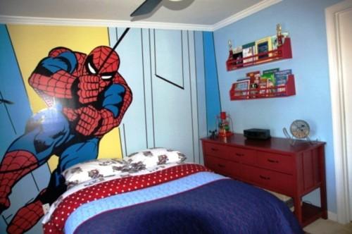 Wallpaper Dinding Kamar Tidur Anak Laki laki 2 - 25 Motif Wallpaper Dinding Kamar Tidur Anak Perempuan dan Laki-laki