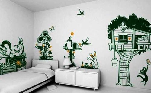 Wallpaper Dinding Kamar Tidur Anak Laki laki 7 - 25 Motif Wallpaper Dinding Kamar Tidur Anak Perempuan dan Laki-laki