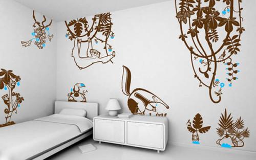 Wallpaper Dinding Kamar Tidur Anak Laki laki 8 - 25 Motif Wallpaper Dinding Kamar Tidur Anak Perempuan dan Laki-laki