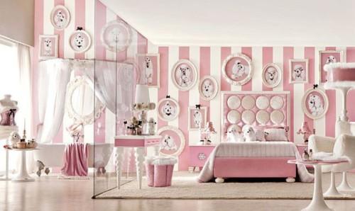 Wallpaper Dinding Kamar Tidur Anak Perempuan 12 - 25 Motif Wallpaper Dinding Kamar Tidur Anak Perempuan dan Laki-laki